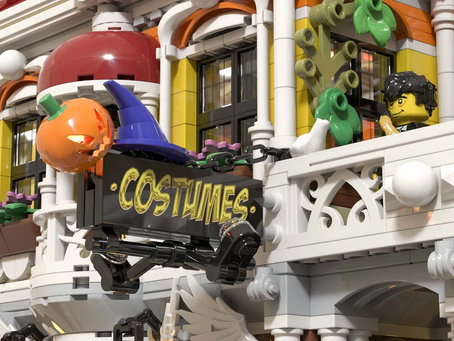 LEGO Ideas: The Costume Store Achieves 10k Supporters