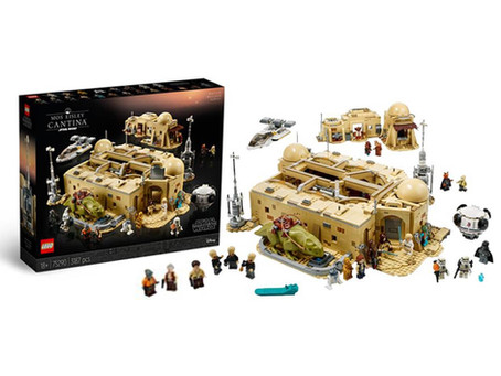 LEGO Star Wars Mos Eisley Cantina First Look!