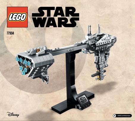 LEGO Star Wars Nebulon-B Frigate™ 77904 Info