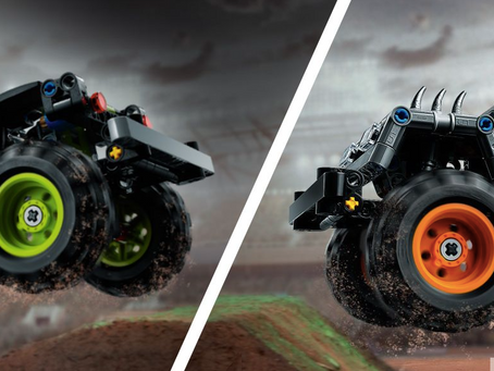 LEGO Technic Monster Jam Sets: First Images