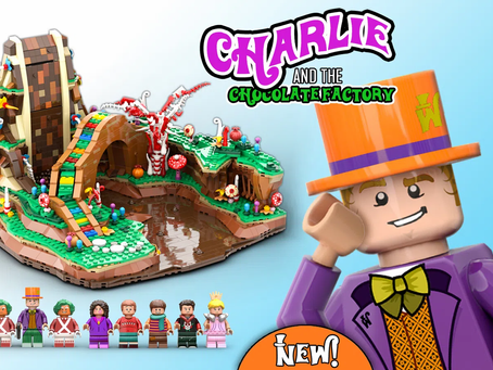 LEGO Ideas: Charlie and the Chocolate Factory Achieves 10k Supporters