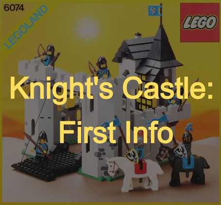 LEGO Creator 3in1 Knight's Castle: First Info