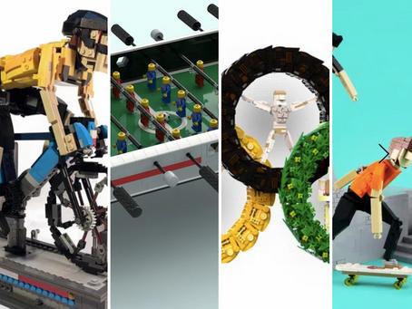 LEGO Ideas We Love Sports! Contest Winner