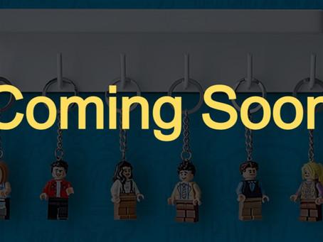 LEGO Ideas Friends Keychains First Look