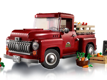 LEGO Creator Expert Pickup Truck: Officially Announced