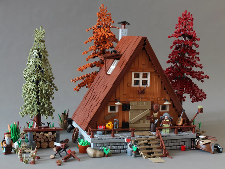 LEGO Ideas: A-Frame Cabin Achieves 10k Supporters