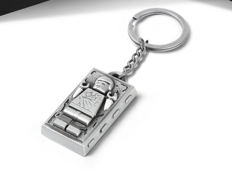 LEGO Star Wars Han Solo Keychain: Official Pictures