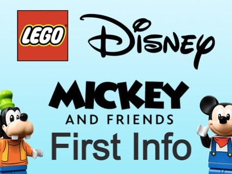 LEGO Disney Mickey and Friends: First Info