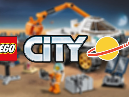 LEGO City Space Sets Coming in 2022
