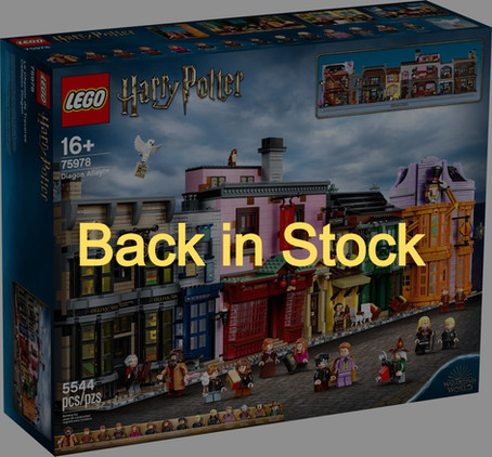 LEGO Harry Potter Diagon Alley™: Back in Stock