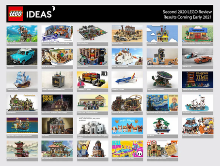 LEGO Ideas Second 2020 Review Results
