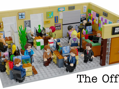 LEGO Ideas: The Office Achieves 10k Supporters