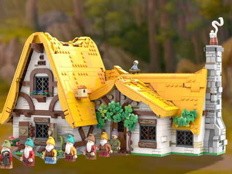 LEGO Ideas: Snow White and the Seven Dwarfs Achieves 10k Supporters