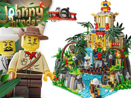LEGO Ideas: Adventurers Themed Project