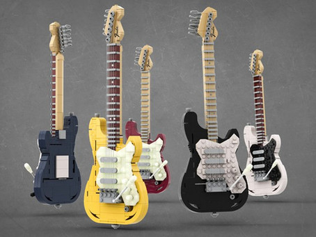 LEGO Ideas Stratocaster: First Info