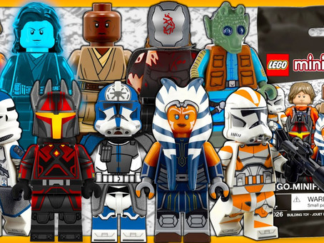 LEGO Star Wars™ Collectible Minifigures: Coming in 2022
