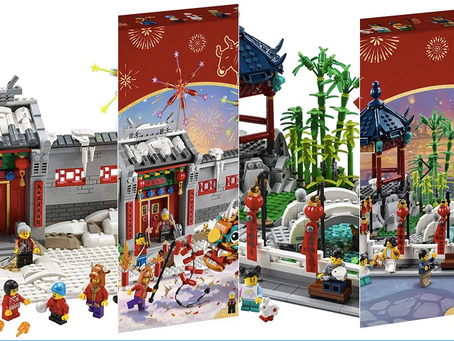 LEGO Chinese New Years Sets Available on Amazon