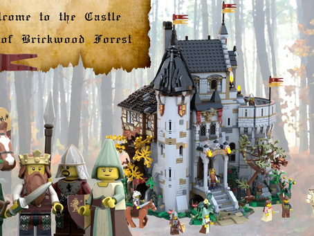 LEGO Ideas: The Castle of Brickwood Forest Reaches 10k Supporters