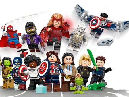 LEGO Marvel Collectible Minifigures Series: Officially Revealed