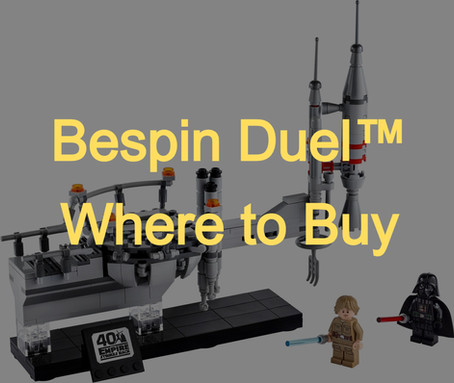 Buying for Parts: Bespin™ Duel