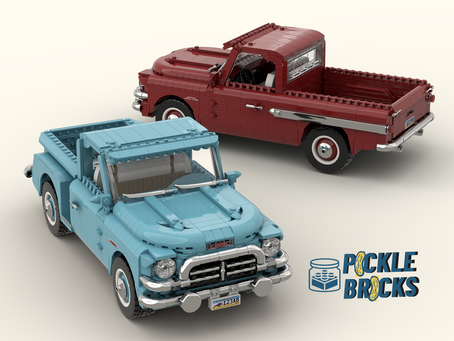 LEGO Ideas: GMC Blue Chip 100 Pickup