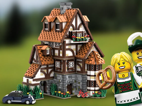 LEGO Ideas: Traditional German Cottage Achieves 10k Supporters