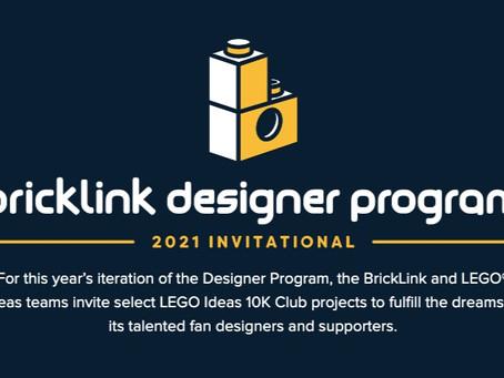 Bricklink Designer Program 2021 Invitational: 8 Projects Reach Crowdfunding Phase