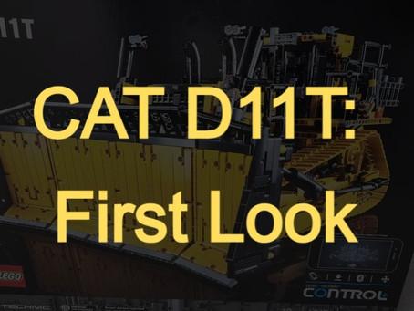 LEGO Technic CAT D11T Bulldozer: First Look