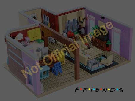 LEGO Friends Sitcom Monica's Apartment Set: First Info