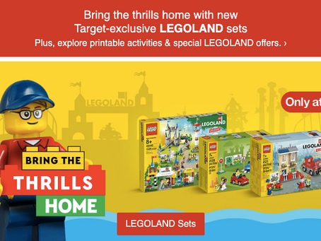 LEGOLAND Exclusive Sets: Now Available at Target
