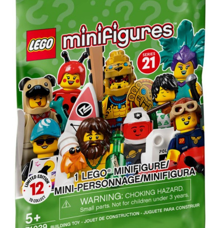 LEGO Collectible Minifigures Series 21: Official Images