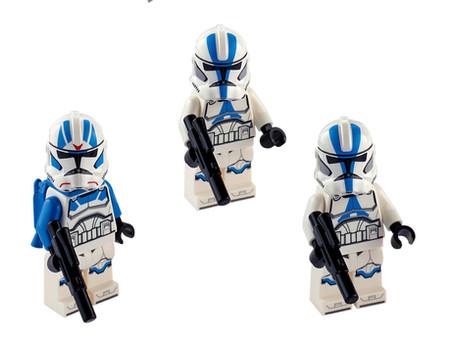 LEGO Star Wars 501st Minifigures Update