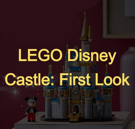 LEGO Mini Disney Castle: First Look