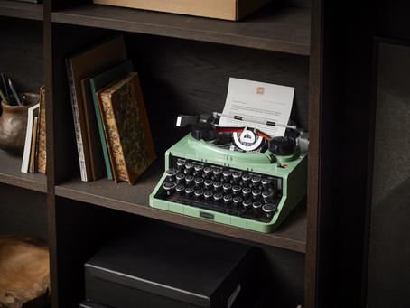 LEGO Ideas Typewriter: Designer Video