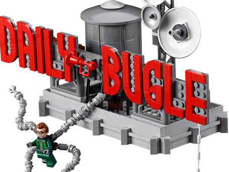 LEGO Marvel Spiderman: Daily Bugle Officially Announced