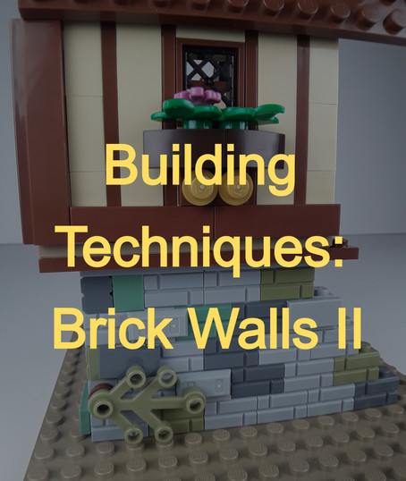 Building Techniques: Brick Walls II