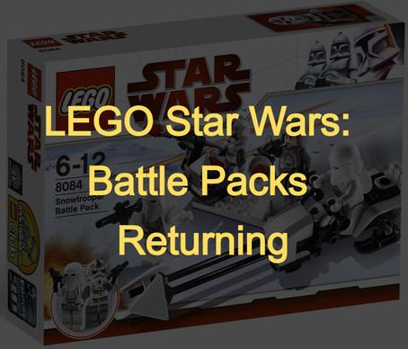 LEGO Star Wars: Battle Packs Returning in 2022
