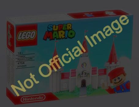 LEGO Super Mario™: Peach's Castle D2C Set Rumors