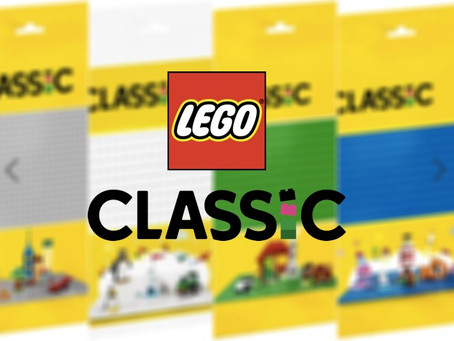LEGO Classic Baseplates: New Packaging for 2022