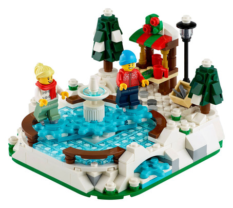 LEGO Ice Skating Rink 40416 GWP Promotion Live on Shop@Home