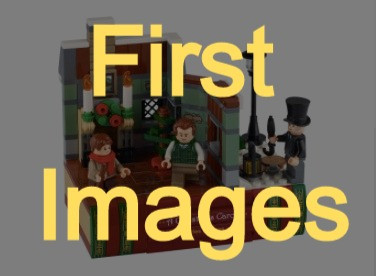 LEGO Charles Dickens Tribute 40410 Revealed