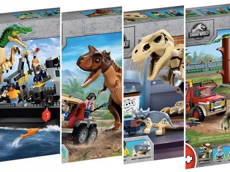 LEGO Jurassic World 2021 Sets: First Look