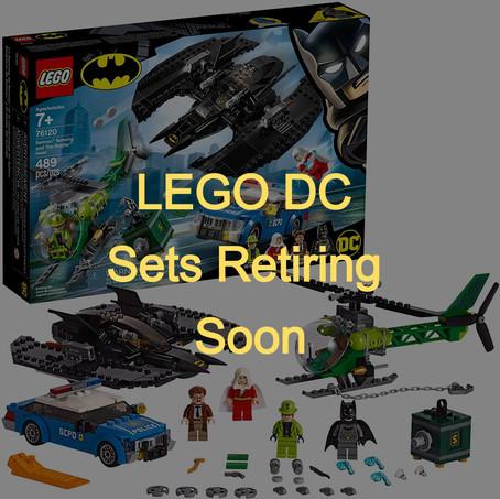 LEGO DC Superhero Sets Retiring Soon