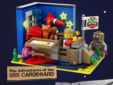 LEGO Ideas OUT OF THIS WORLD SPACE BUILDS GWP Competition Winner Selected