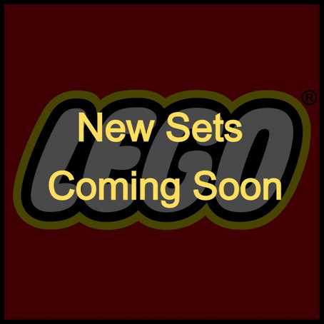 New LEGO Sets Coming Soon