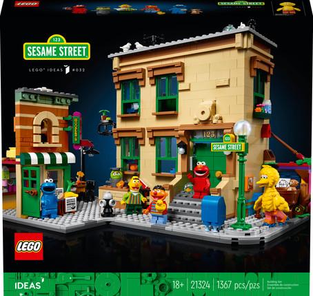 LEGO Ideas 123 Sesame Street Officially Announced