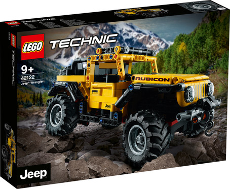 LEGO® TECHNIC™ JEEP® WRANGLER Officially Announced