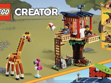 LEGO Creator 3in1 2021 Sets: 2nd Wave