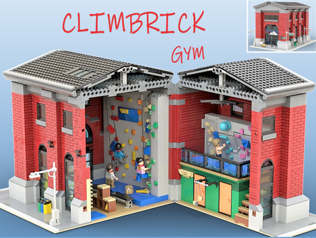 LEGO Ideas: Climbrick Gym