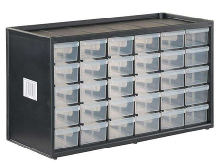 Storage Solutions: Small Parts Bins